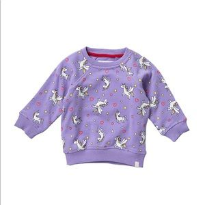 NEW! ⭐️Host Pick⭐️ Baby Purple Unicorn Sweatshirt